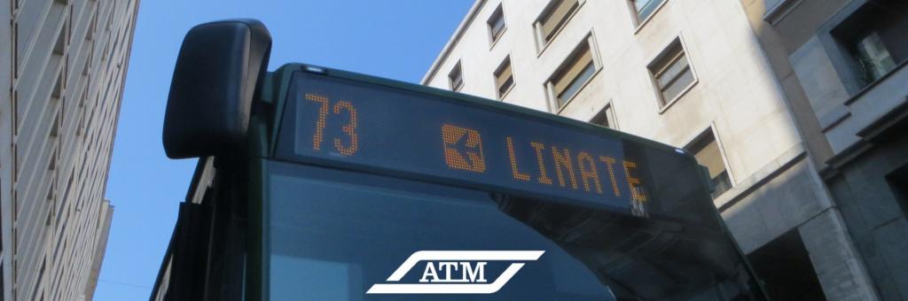 Bus 73. Milán - Linate