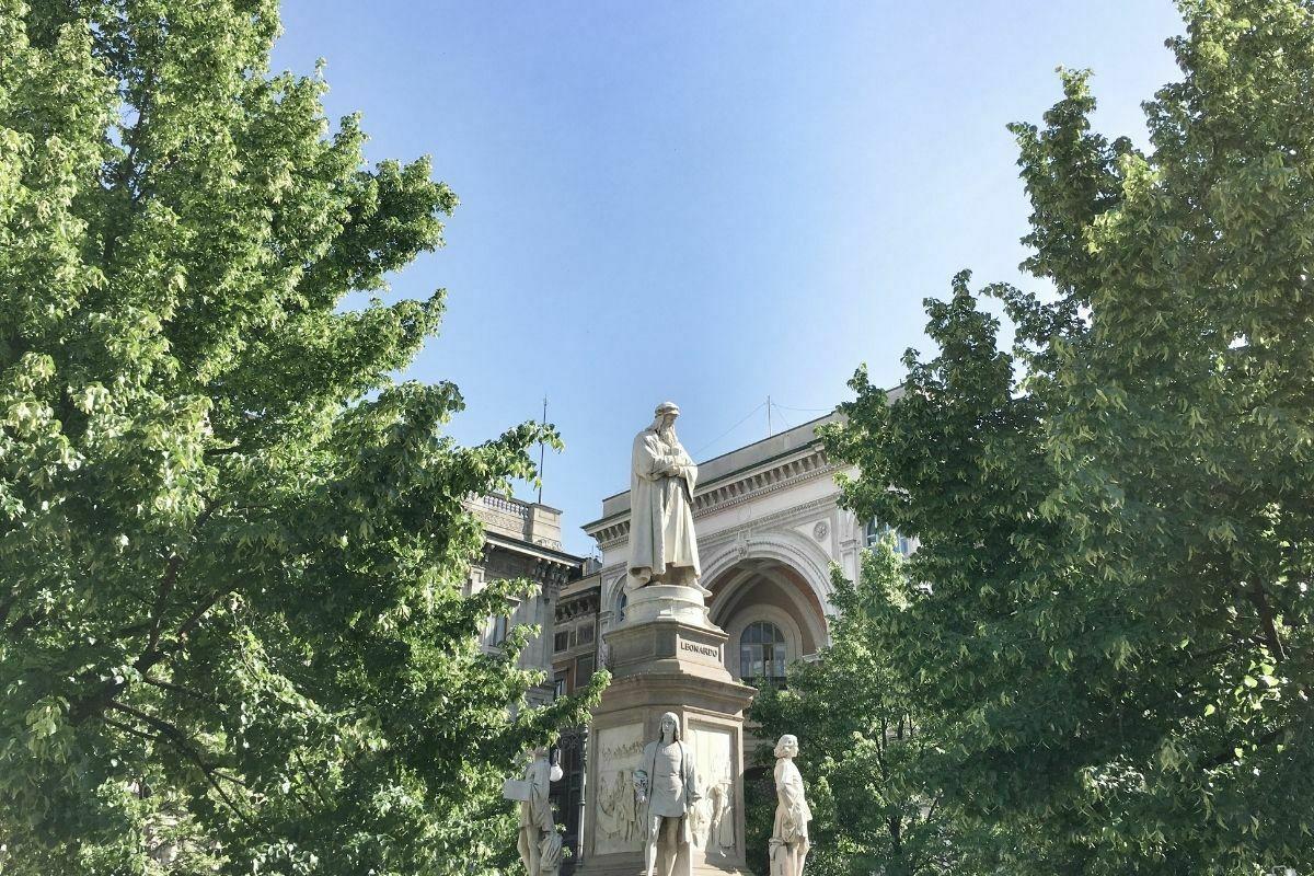 Leonardo Da Vinci en Milán