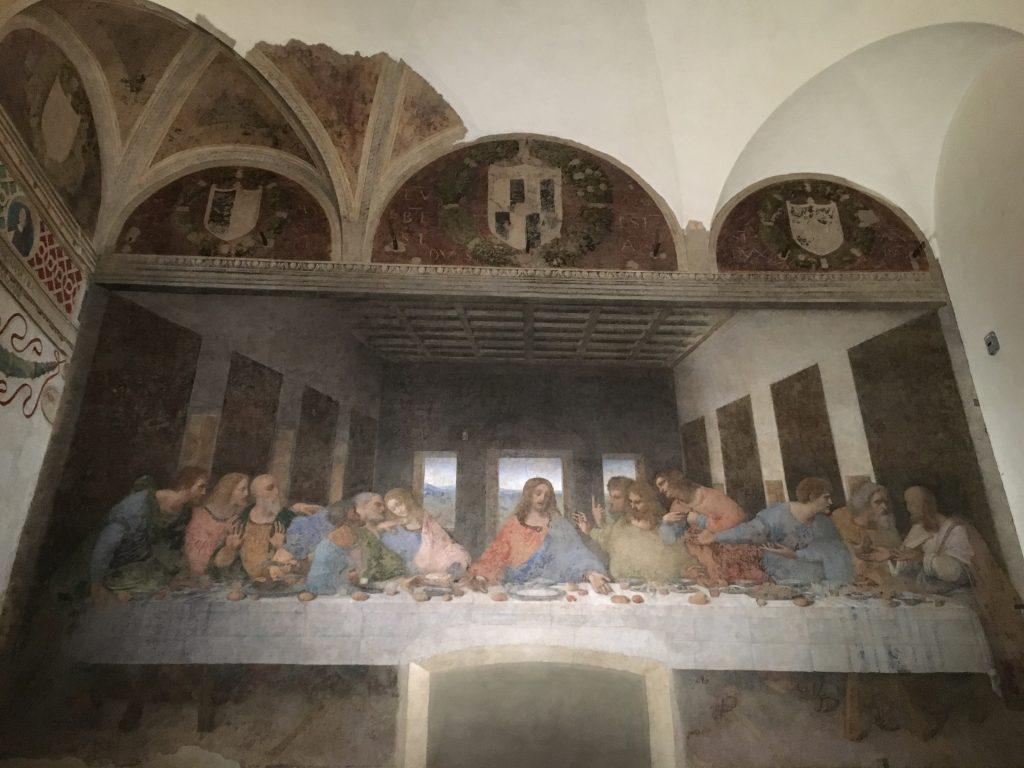 La Última Cena de Leonardo Da Vinci en Milán