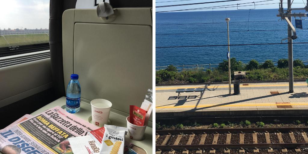 Viajar en tren por Italia