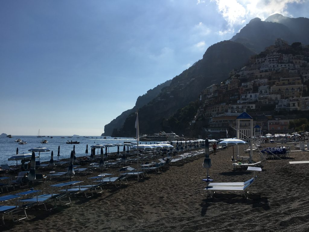 Ruta por la Costa Amalfitana. Positano