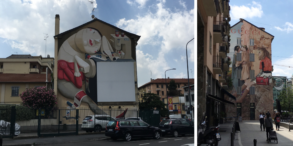 Street Art gratis en Milán