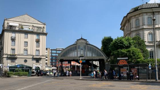 Estación de tren Como Nord Lago