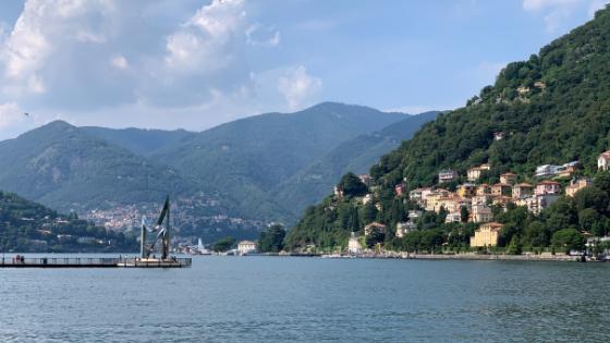 desde Milán al lago de Como