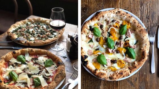 Pizza en Milán