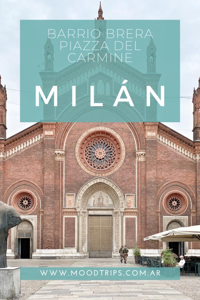 Piazza del Carmine. Milan