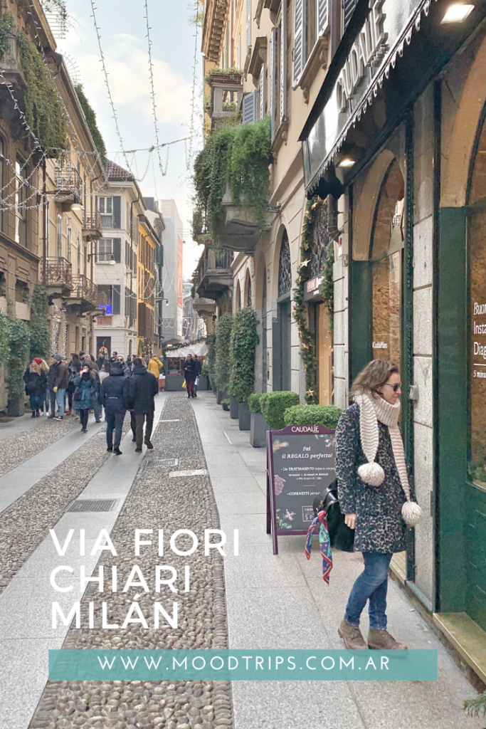 Via Fiori Chiari. Milán