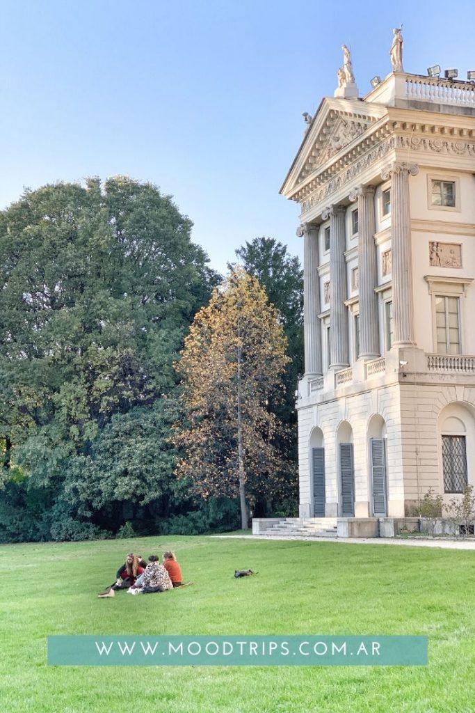 Jardines de Milán. Villa Reale