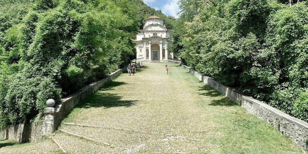 Peregrinación en el Sacro Monte di Varese
