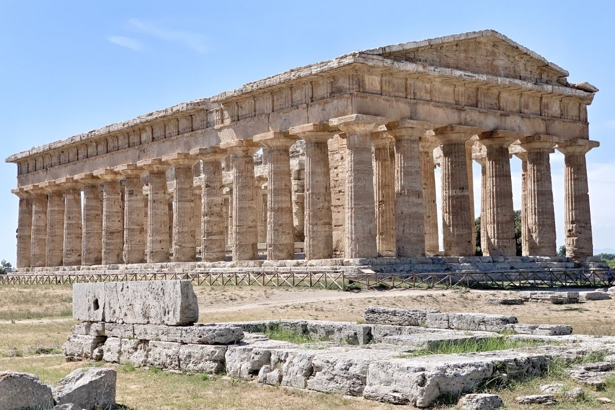 Paestum. Templo Neptuno