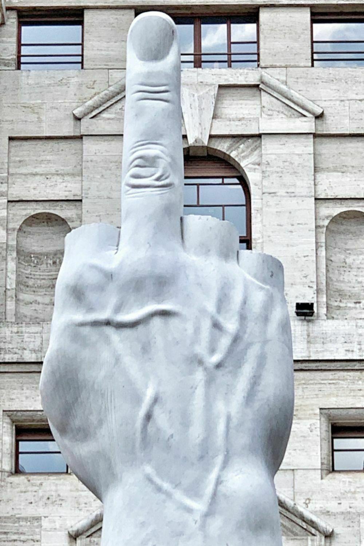 Arte al aire libre en Milán